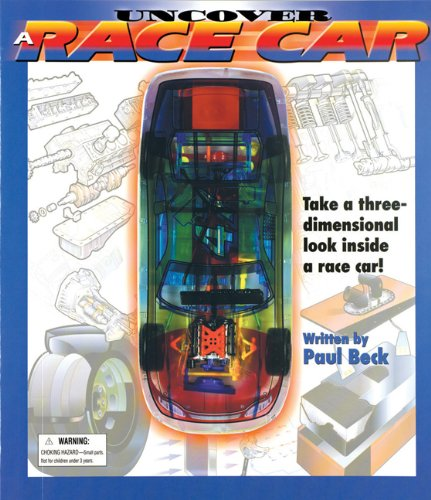 9781571457912: Uncover a Race Car: An Uncover It Book