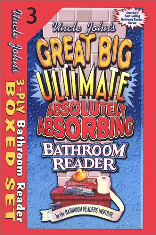 9781571458742: Uncle John's 3-Ply Bathroom Reader Boxed Set
