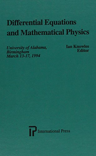 9781571460318: Differential Equations and Mathematical Physics