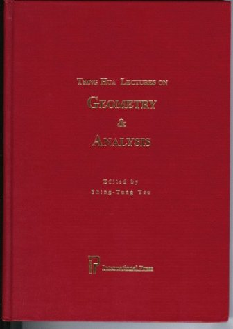 9781571460424: Tsing Hua Lectures on Geometry & Analysis