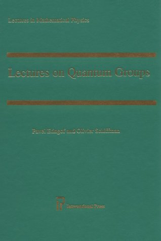 9781571460639: Lectures on Quantum Groups