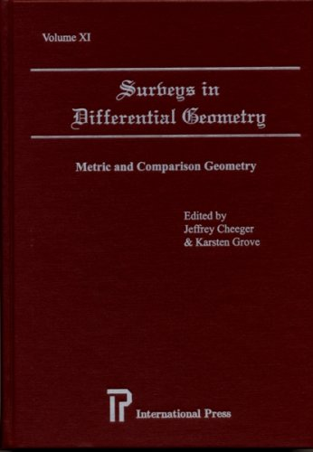 9781571461179: Surveys in Differential Geometry, Vol. 11: Metric and Comparison Geometry