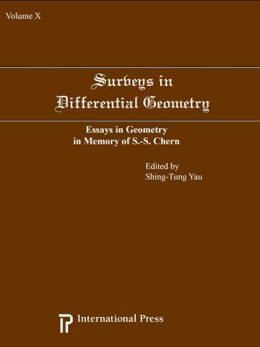 Surveys in Differential Geometry: v. 10: Essays in Geometry in Memory of S.S. Chern (Hardback)