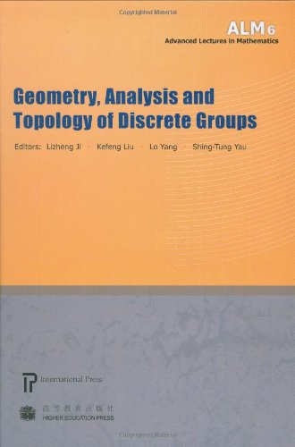 9781571461261: Geometry, Analysis and Topology of Discrete Groups (volume 6 in the Advanced Lectures in Mathematics series)