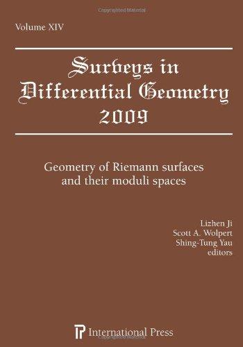 Surveys in Differential Geometry, Vol. 14 (2009): various]