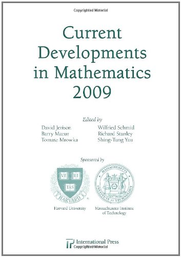 Current Developments in Mathematics, 2009: various]