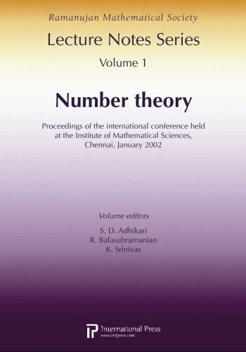 RAMANUJAN LECTURE NOTES SERIES VOL1: N a