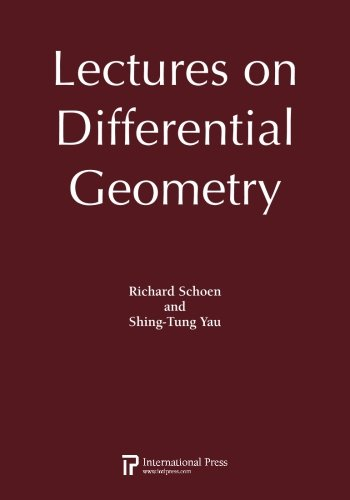 9781571461988: Lectures on Differential Geometry (2010 re-issue)