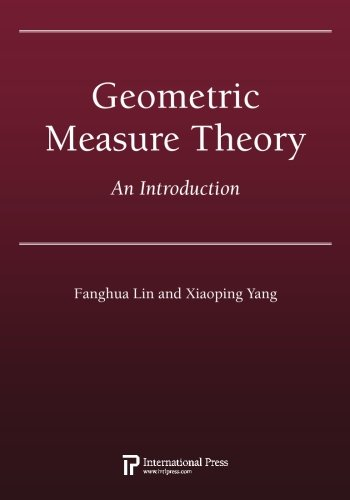 9781571462084: Geometric Measure Theory: An Introduction (2010 re-issue)