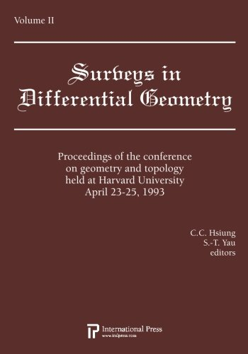 Proceedings of the Conference on Geometry and Topology Held at Harvard University, April 23-25, ...