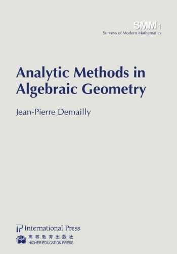 9781571462343: Analytic Methods in Algebraic Geometry (vol. 1 in the Surveys of Modern Mathematics series)