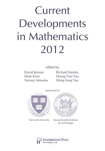 9781571462404: Current Developments in Mathematics, 2012