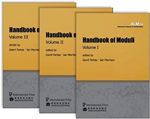 Handbook of Moduli: Volumes I, II, III (Paperback): FARKAS & MORRISON