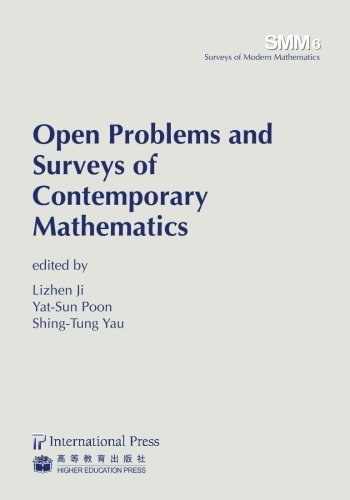 9781571462787: Open Problems and Surveys of Contemporary Mathematics (volume 6 in the Surveys in Modern Mathematics series) (Surveys of Modern Mathematics)