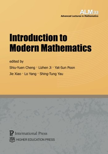9781571463050: Introduction to Modern Mathematics (Vol. 33 of the Advanced Lectures in Mathematics series) (English and French Edition)