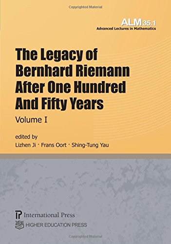 9781571463166: The Legacy of Bernhard Riemann After One Hundred and Fifty Years: 2-Volume Set (Vols. 35.1 & 35.2 of the Advanced Lectures in Mathematics series)