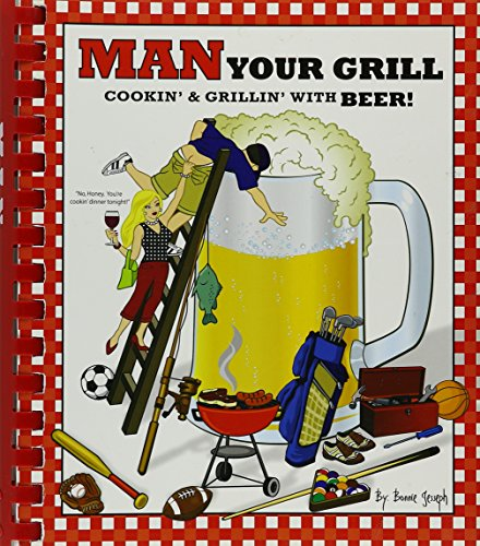 """Man Your Own Grill: Cookin' & Grillin"""": Jumbo Jack's Cookbooks"""