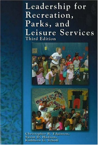 9781571675606: Leadership for Recreation, Parks, and Leisure Service