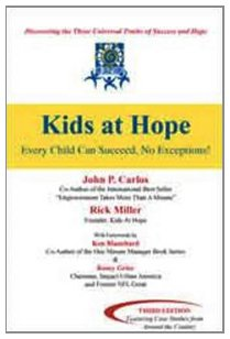 9781571675774: Kids at Hope: Every Child Can Succeed -- NO EXCEPTIONS