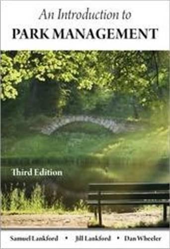 9781571675781: Introduction to Park Management