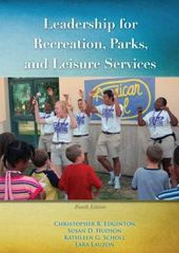 9781571676382: Leadership for Recreation, Parks and Leisure Services