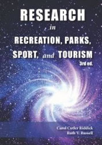 9781571677181: Research in Recreation, Parks, Sport & Tourism