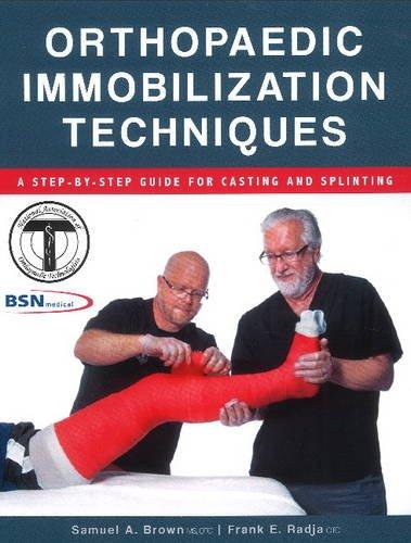 9781571677426: Orthopaedic Immobilization Techniques