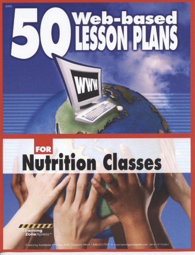 9781571752826: 50 Web-Based Lesson Plans for Nutrition Classes