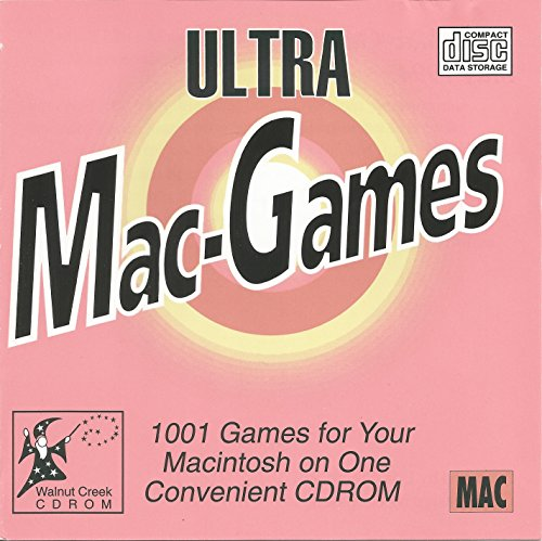 9781571760654: Ultra Mac-Games: 1001 Games for the Macintosh, All Ready to Run Directly from the Cd-Rom