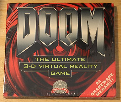 9781571760685: Doom Shareware: Share for Doom 1, the Fast-Moving Virtual Reality Game/Cd-Rom in Jewel Box
