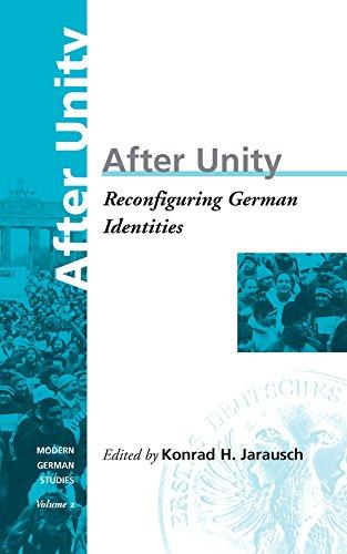 9781571810410: After Unity: Reconfiguring German Identities (Modern German Studies)
