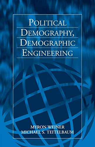 9781571812544: Political Demography, Demographic Engineering
