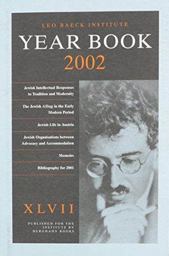 Leo Baeck Institute Yearbook 2002 [XLVII]: Grenville, Gross