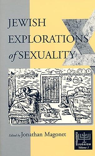 9781571818683: Jewish Explorations of Sexuality (European Judaism)