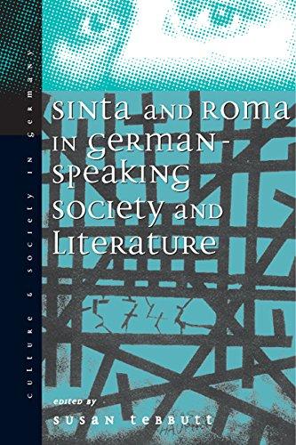9781571819215: Sinti and Roma: Gypsies in German-Speaking Society and Literature (Culture and Society in Germany)
