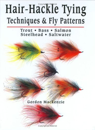 9781571882295: Hair-Hackle Tying Techniques & Fly Patterns
