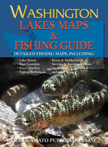 9781571884770: Washington Lake Maps & Fishing Guide