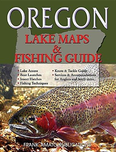 9781571885173: Oregon Lake Maps & Fishing Guide (Revisde & Resized)