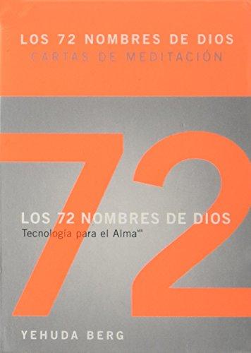 9781571892980: Los 72 Nombres de Dios. Baraja de Meditacion. (Spanish Edition)