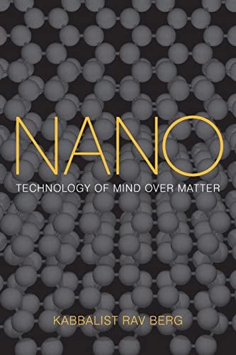 9781571896643: Nano: Technology of Mind Over Matter
