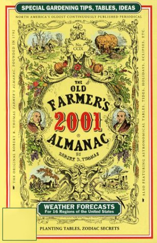 The Old Farmer's Almanac 2001: Thomas, Robert B.