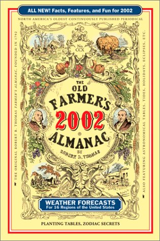 The Old Farmers Almanac 2002 Paperback (Old Farmer's Almanac, 2002)