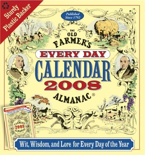 9781571984326: The Old Farmer's Almanac 2008 Every Day Calendar