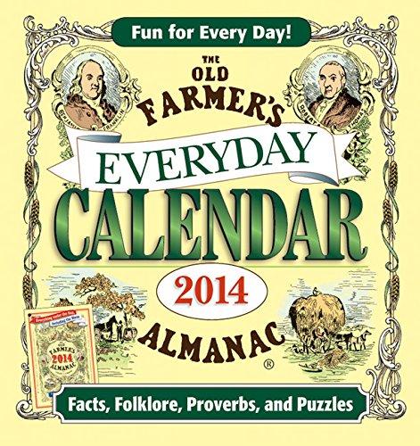 9781571986122: The Old Farmer's Almanac 2014 Everyday Calendar
