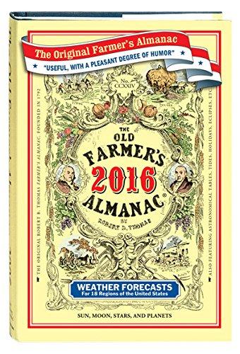 The Old Farmer's Almanac 2016: Almanac, Old Farmer