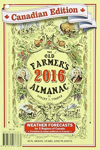 9781571986863: The Old Farmer's Almanac 2016: Canadian Edition
