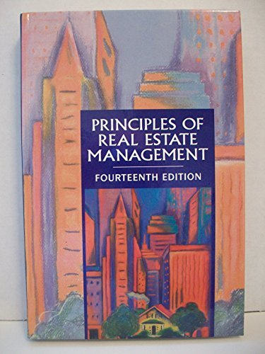 9781572030657: Principles of Real Estate Management
