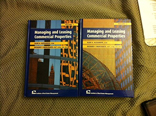 9781572031258: Managing and Leasing Commercial Properties