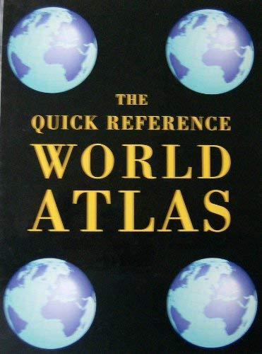 9781572150935: The Quick Reference World Atlas