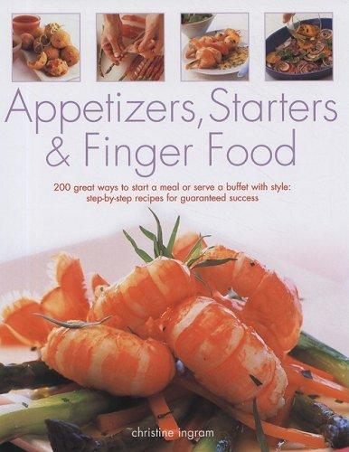 9781572155022: Appetizers, Starters & Finger Food